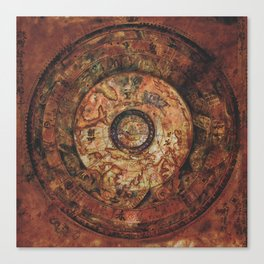 Sao Feng Replica Map Canvas Print