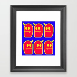 6 Mr. Grubbo And No More Framed Art Print