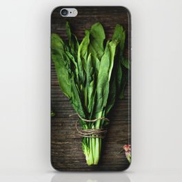 Spinach. iPhone Skin