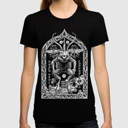 Demon Toad Black Metal Illustration Shirt T-shirt