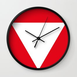 Austria country roundel Wall Clock