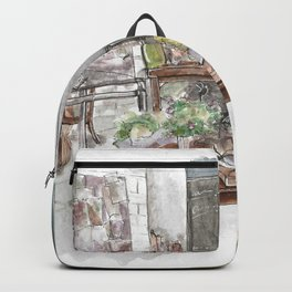 Will and Grace - Grace Adler Designs Studio Watercolor Painting Backpack