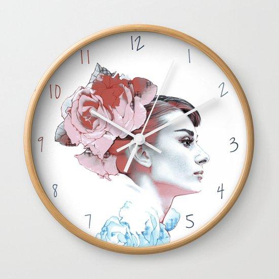 Audrey II Wall Clock