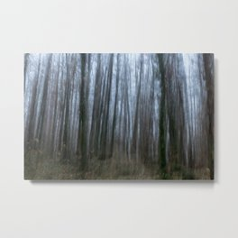 Scary forest Metal Print
