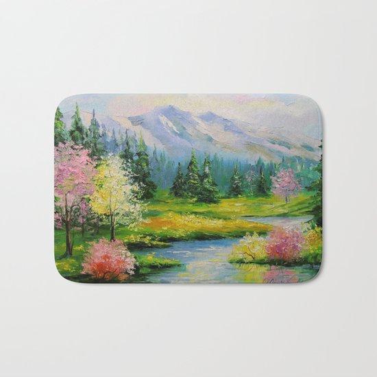 Spring brook Bath Mat