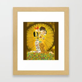 KLAINE KISS Framed Art Print