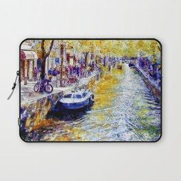 Amsterdam Canal Laptop Sleeve