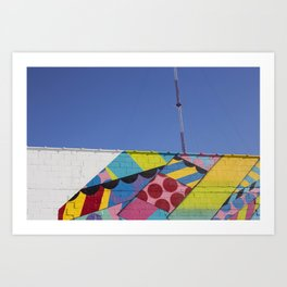 Abstract Broadcast Art Print
