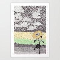 kansas Art Prints featuring Kansas by NEMO