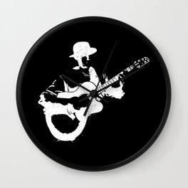 Musician playing Wall Clock