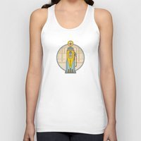pocket fuel Tank Tops featuring Fuel Up by Rachael Sinclair