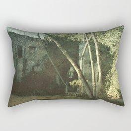 Vintage ruins gard Rectangular Pillow