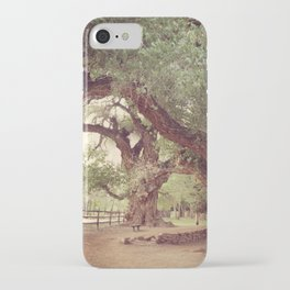 Mighty Cottonwood Trees iPhone Case