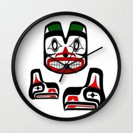 NORTHERN CASCADES Wall Clock
