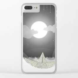 Dream Sea Clear iPhone Case