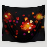 dots Wall Tapestries featuring Dots by haroulita
