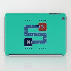 Save Your Work iPad Case