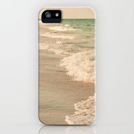 Tropical Beach Love iPhone Case