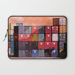 Colorful containers I Laptop Sleeve