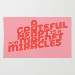 magnet for miracles Rug