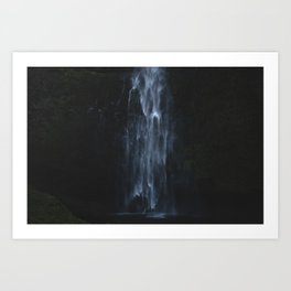 Ghost inside the water Art Print