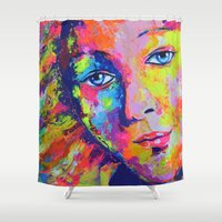 venus Shower Curtains featuring Venus by Ilya Konyukhov