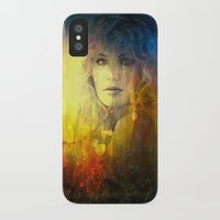 "sandra dieckmann iPhone & iPod Cases featuring "" Sandra ""  by shiva camille"