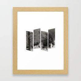 Coulrophobia Woods Framed Art Print