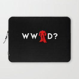 Transformers: What Would Optimus Prime Do? Laptop Sleeve
