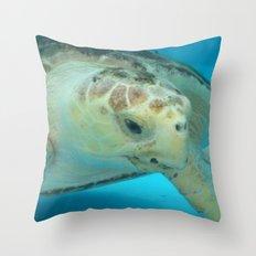 Sea Turtle Throw Pillow