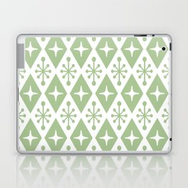 Mid Century Modern Atomic Triangle Pattern 127 Laptop & iPad Skin