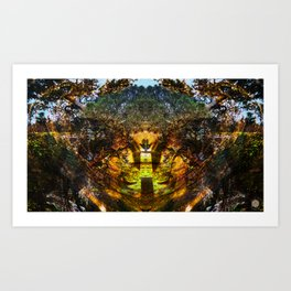 Neteru in Ancient Egypt. Art Print