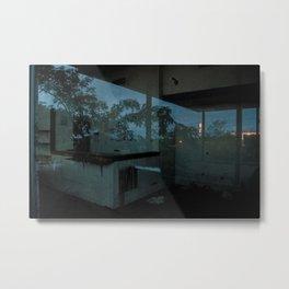 Abandoned Reflections Metal Print