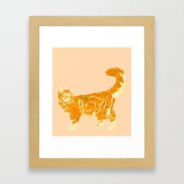 Maine Coon Me Framed Art Print
