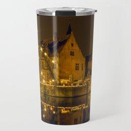 Night at Brugge Travel Mug