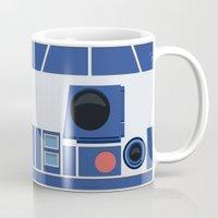 boob Mugs featuring R2-D2 by dudsbessa