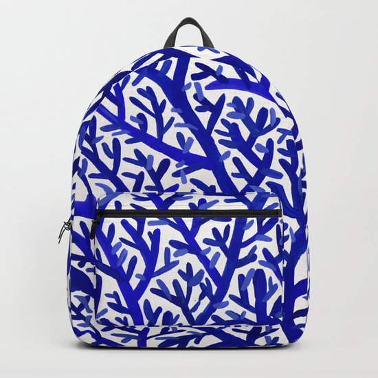 Fan Coral – Navy Backpack