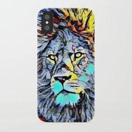 Color Kick Lion King iPhone Case