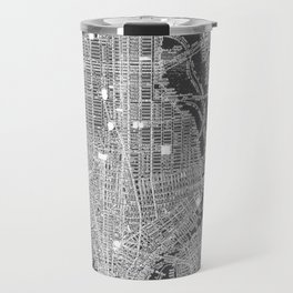 New York City Vintage Map Travel Mug