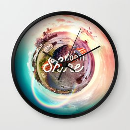 Planet NorthShore Wall Clock