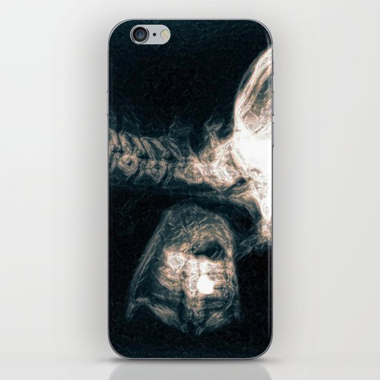 Pain in the Neck iPhone & iPod Skin