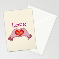 Love Hands Stationery Cards