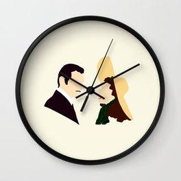 Rhett and Scarlett Wall Clock