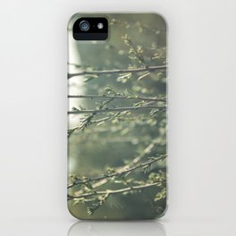 i don't stand a chance  iPhone Case