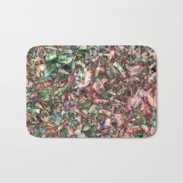 Polychromatic Succulent Bath Mat
