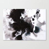 abyss Canvas Prints featuring Abyss by Naomi Shingler