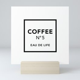 Coffee No5 Mini Art Print