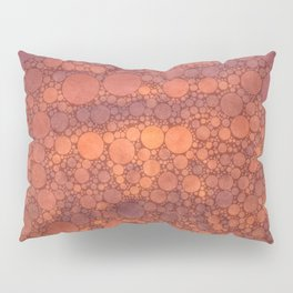 Percolated Sunset in Warm Tones Pillow Sham
