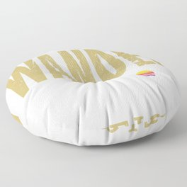 Geocacher Geocaching Geoache gift Floor Pillow