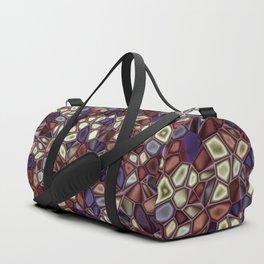 Fractal Gems 01 - Fall Vibrant Duffle Bag